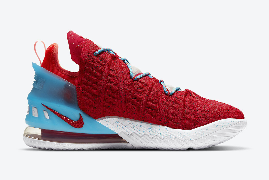 Nike LeBron 18 Gong Xi Fa Cai CW3155-600