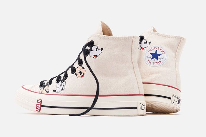 Kith Disney Converse Chuck 70 Mickey Mouse Release Date 4White Hero Shot