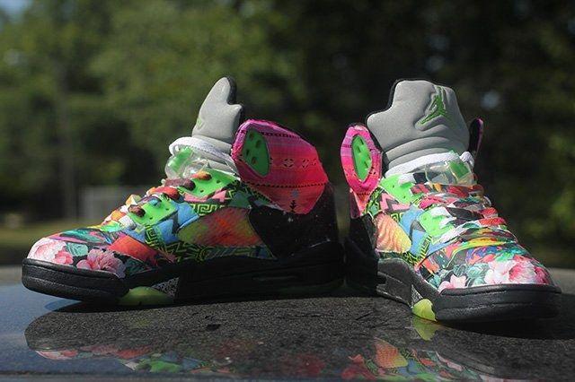 Rbn Custom Air Jordan 5 What The Fresh Prince 5