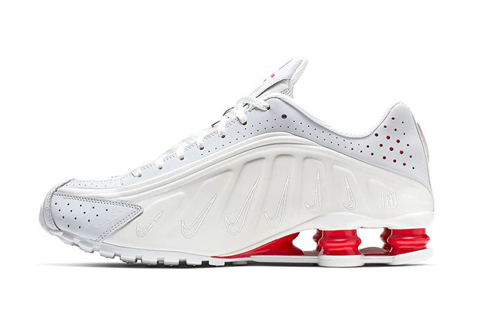 Neymar Nike Shox R4 Collaboration Official White Release Date Lateral
