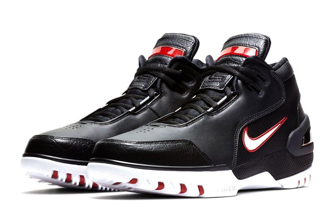Nike Air Zoom Generation Black Red Lebron Sneaker Freaker 1