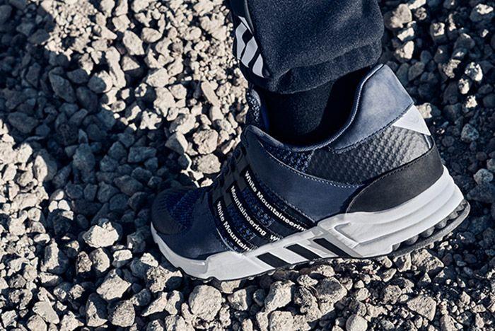 White Mountaneering Adidas Wm Racing Blue On Feet 1