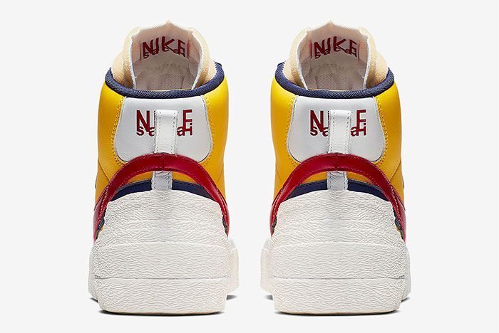 Sacai Nike Blazer Wafle Heel Shot 13