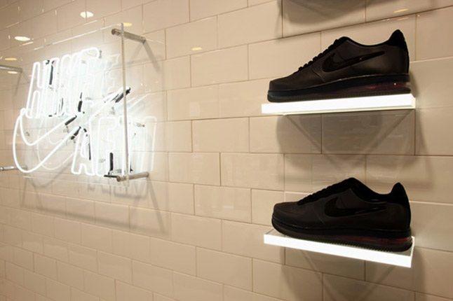 Nike Air Force 1 Xxx Anniversary The Pivot Point Pop Up Shop Tokyo Wall 1