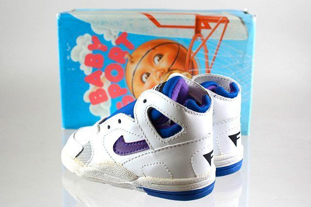 Nike Baby Sport Flight Huarache Purple Royal Blue 1