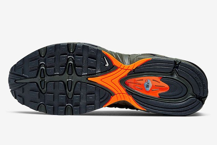 Nike Air Max Tailwind 4 Olive Orange Cj9681 300 Sole