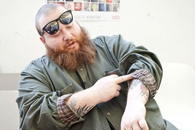 Action Bronson At Sneaker Freaker With Tattoos 1