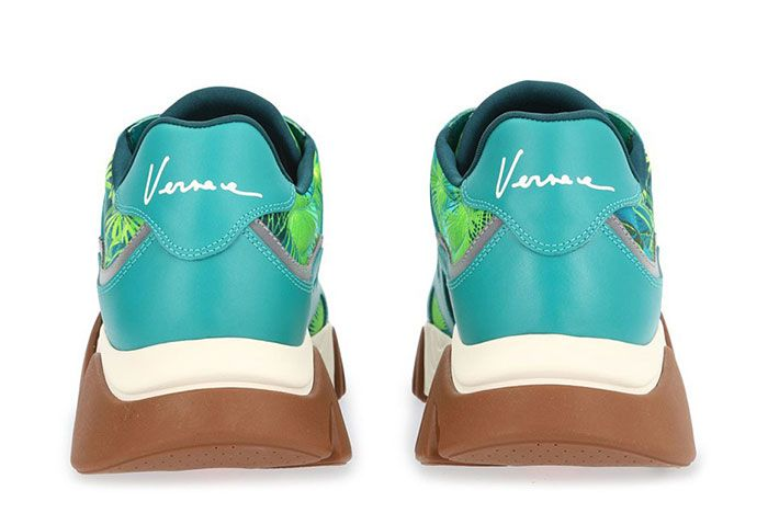 Versace Jungle Print Squalo Heel