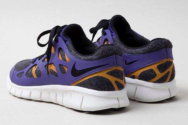 Nike Free Run2 Purple Heel Shot 1