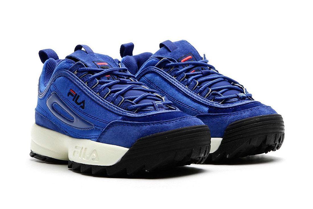 Fila Disruptor V Low Womens Royal Blue Sneaker Freaker 6
