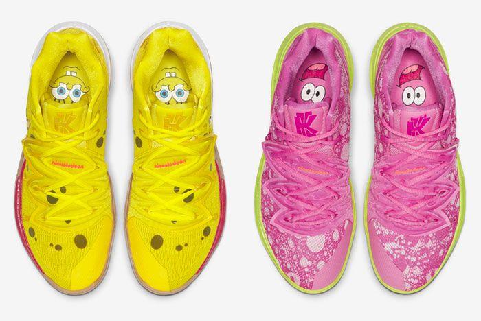 Nike Kyrie 5 Spongebob Pack Top
