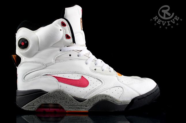 Nike Air Force 180 Pump Sunrise Revive Custom 02 1