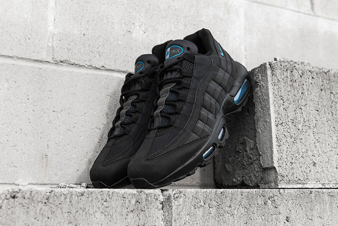 Nike Air Max 95 Imperial Blue Concrete Toe