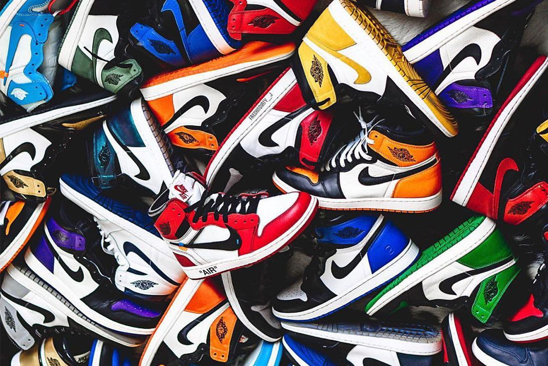 Air Jordan 1 Pile Colourways