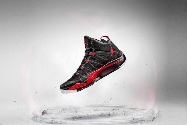 Jordan Super Fly 2 Black Red