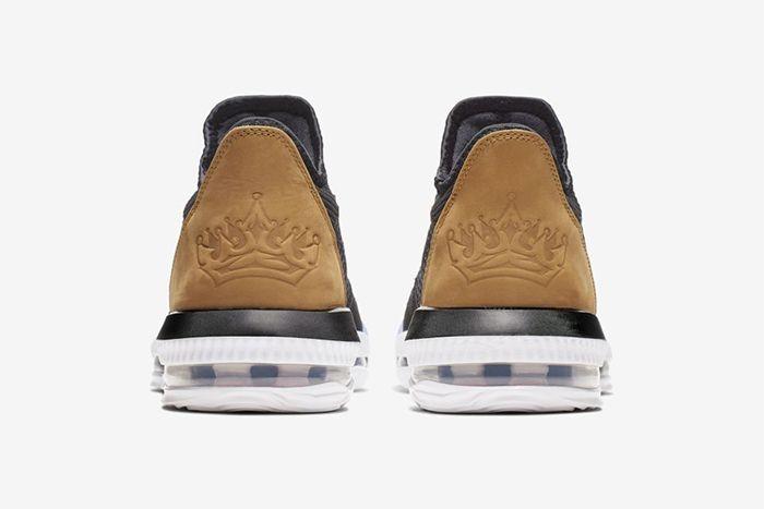 Nike Lebron 16 Low Soundtrack Ci2668 001 Release Date Heel