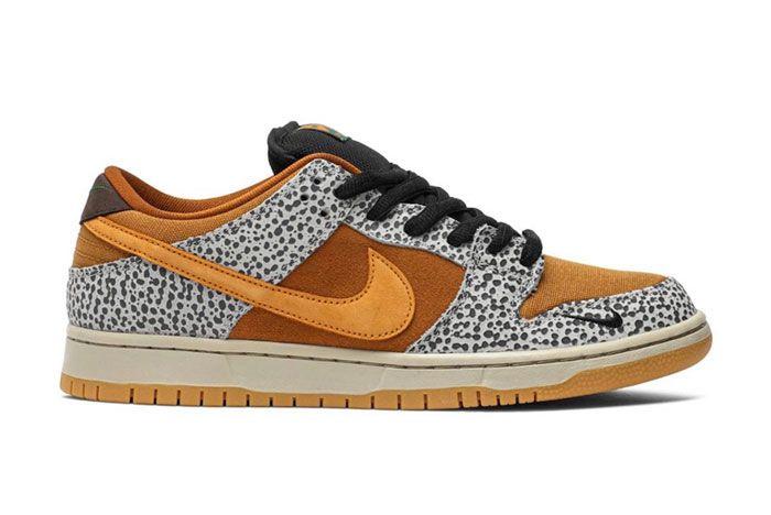 Nike Sb Dunk Low Safari Right