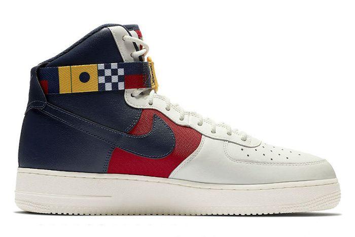 Nike Air Force 1 High Nautical Redux Ar5395 100 Side Sneaker Freaker