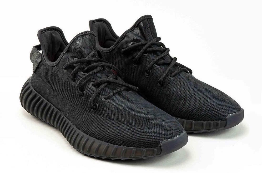 adidas-Yeezy-Boost-350-V2-Mono-Black-