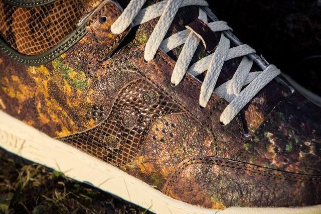 Packer Shoes Saucony Hangtime Woodland Snake 9