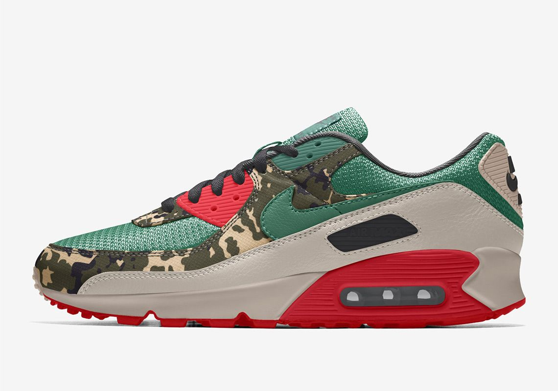 New Nike By You Options Arrive For the Air Max 90 - Sneaker Freaker