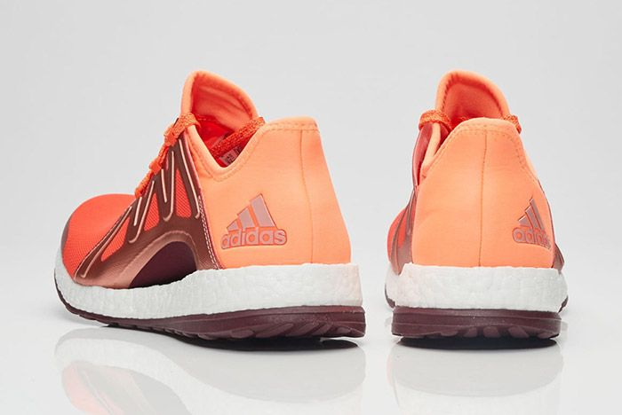 Adidas Pure Boost Womens Xpose Orange 4