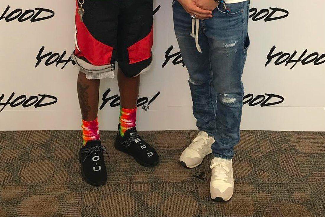 Pharrell Nerd Adidas Hu Nmd 4