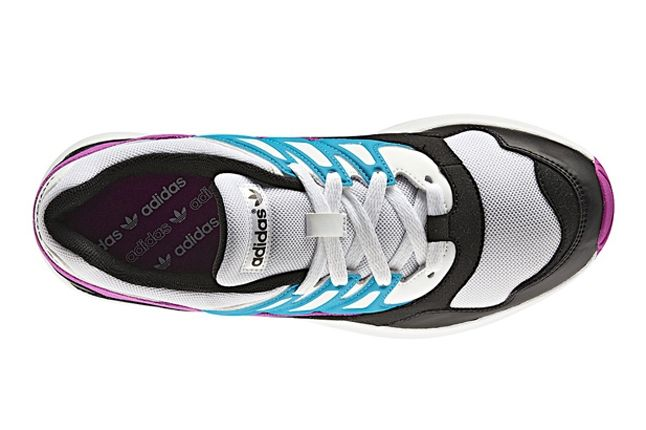 Adidas Torsion Allegra Grey Pink Blue Birds Eye 1