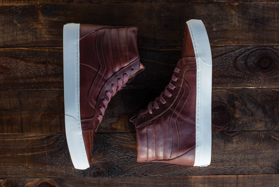 Horween Leather X Vans Vault Collection10