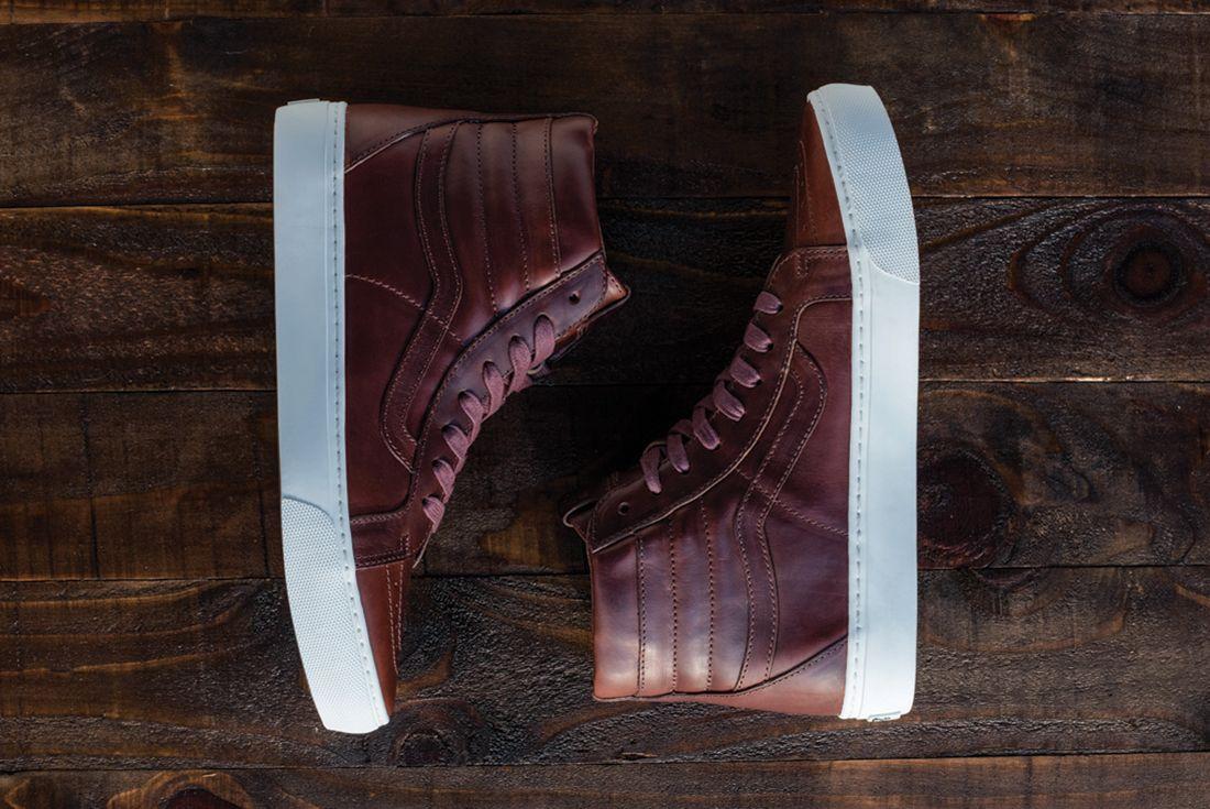 Horween Leather X Vans Vault Collection10
