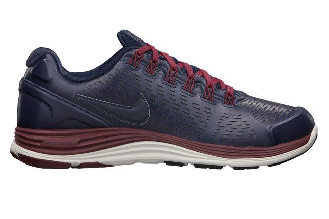 Nike Lunarglide 4 Nsw Mens Running Shoe Obsidian Side 1