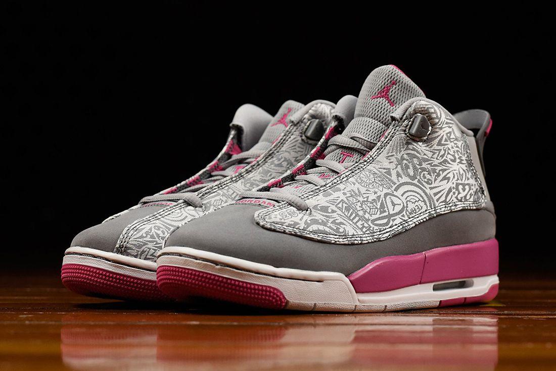 Air Jordan Dub Zero Gg Vivid Pink