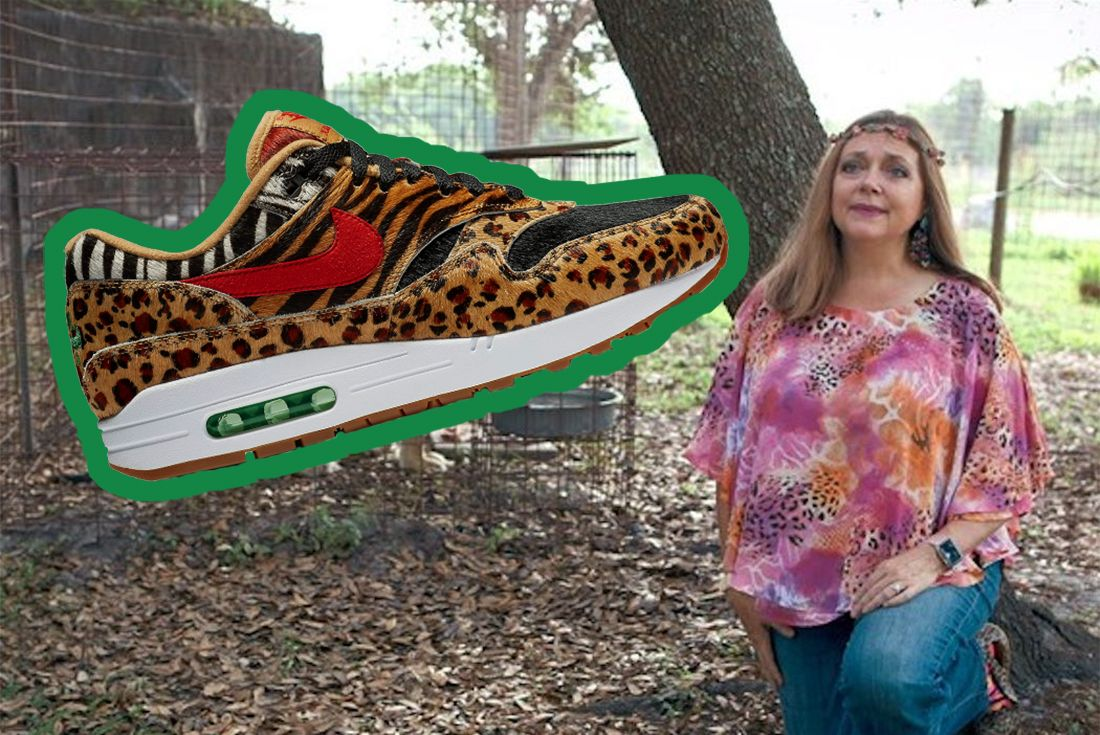 Carole Baskin Cat Themed Sneakers