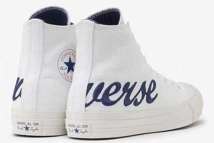 Converse Chuck Taylor Script Logo White 1 Pair
