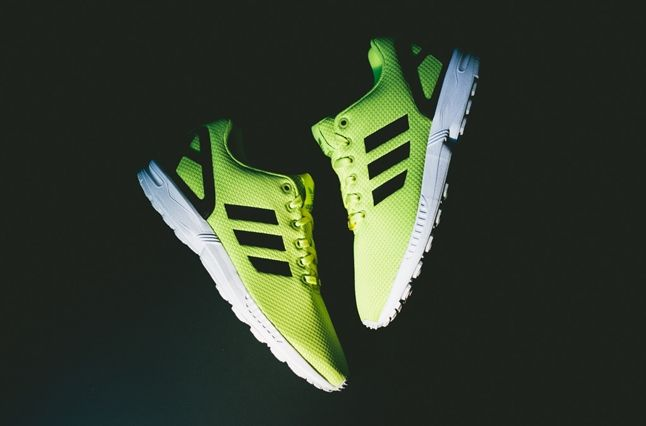 Adidas Zx Flux Electric Yellow 1