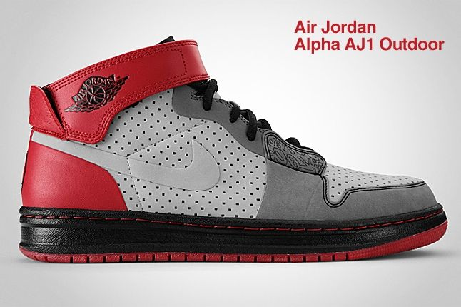 Air Jordan Alpha Aj1 Outdoor Red 1