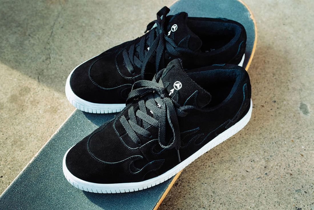 Cluct Airwalk Mita Sneakers Collaboration Collection Release Info 8 Pair Shot Skateboard