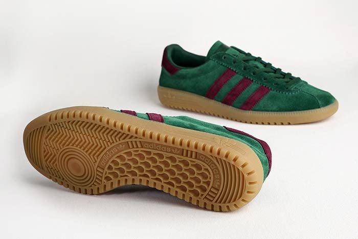 Adidas Originals Bermuda Size Exclusive Pine Greenmaroon 1