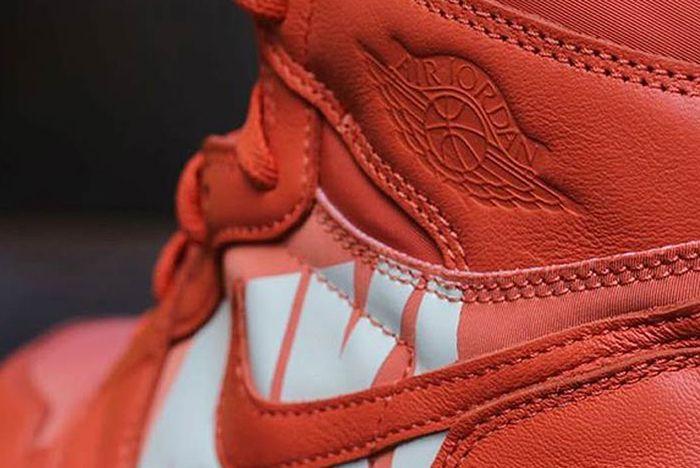 Air Jordan 1 Big Logo Orange 2 Sneaker Freaker