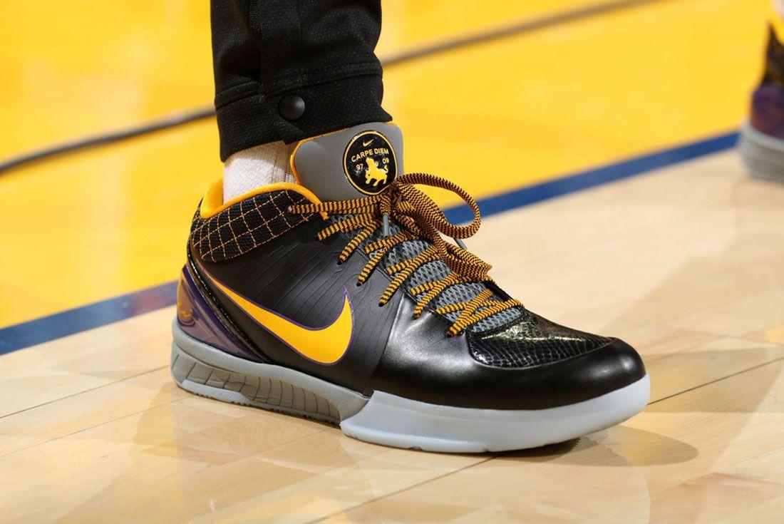 Nike Kobe 4 Protro Carpe Diem On Court