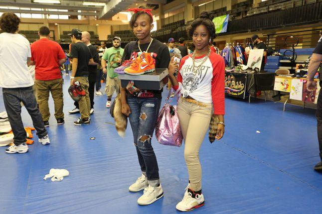 Sneaker Con Charlotte People Jordans 1