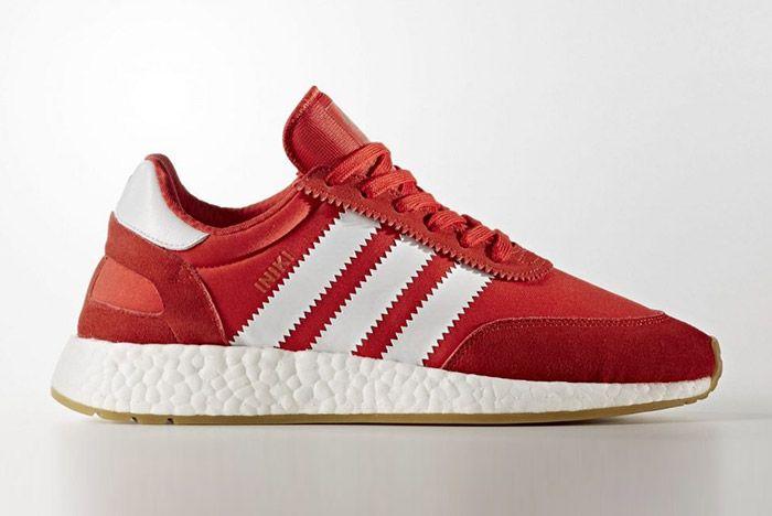 Adidas Iniki Runner Boost Red