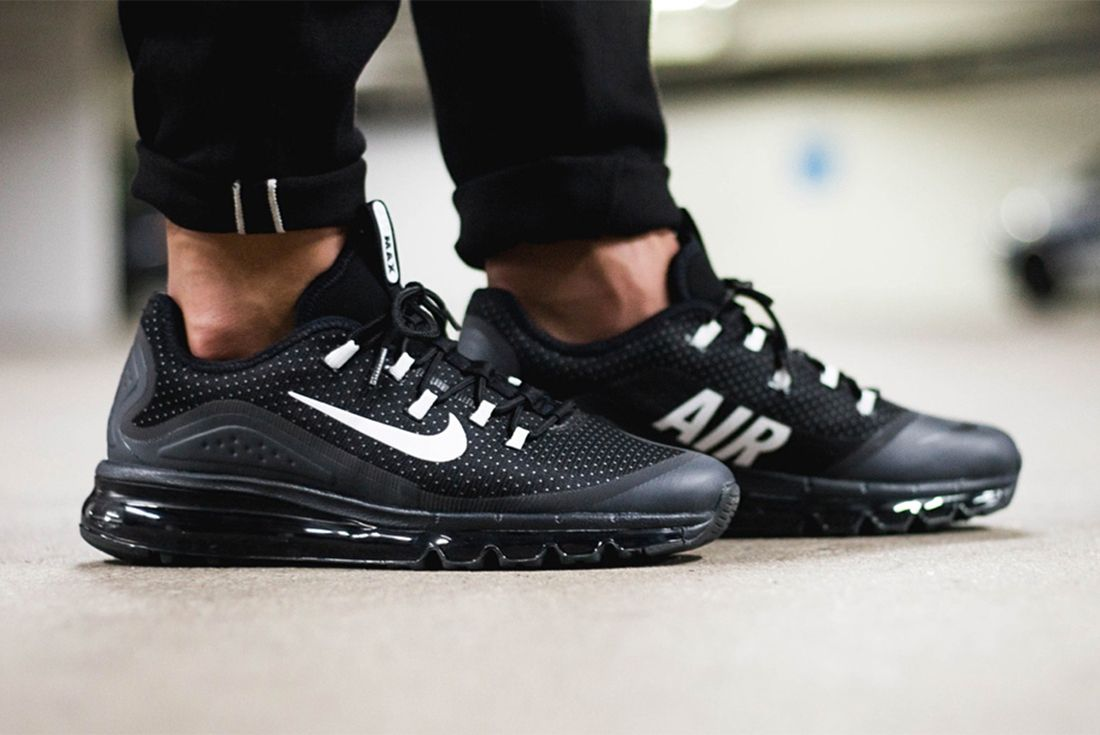 Nike Air Max More Black White