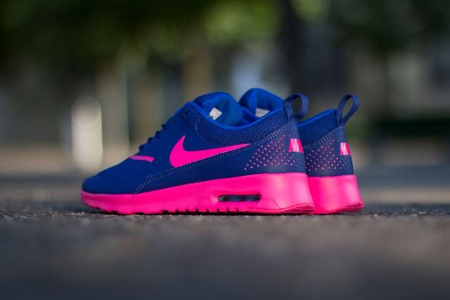 Nike Wmns Air Max Thea Deep Royal Blue Hyper Pink 3