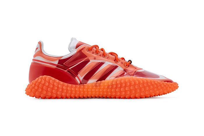 Craig Green Adidas Kamanda Dover Street Market Red Lateral Side Shot