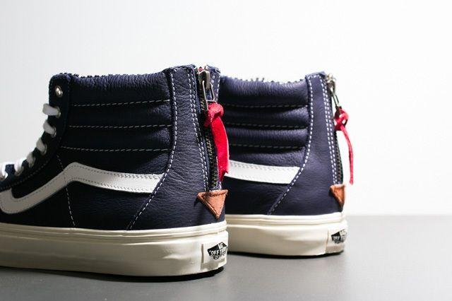 Vans Sk8 Hi Leather Pack 6