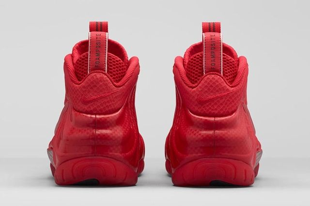 Nike Air Foamposite Pro Gym Red Bumper 4
