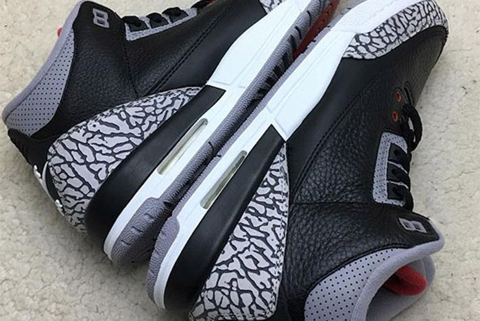 Air Jordan 3 Black Cement Retro 1