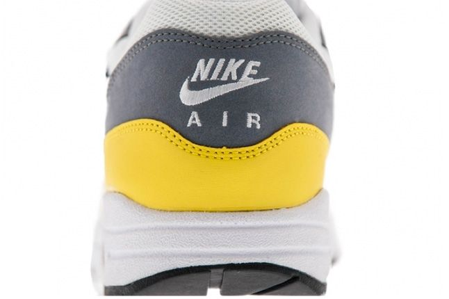 Nike Air Max 1 Essential Cool Grey Yellow 4 1