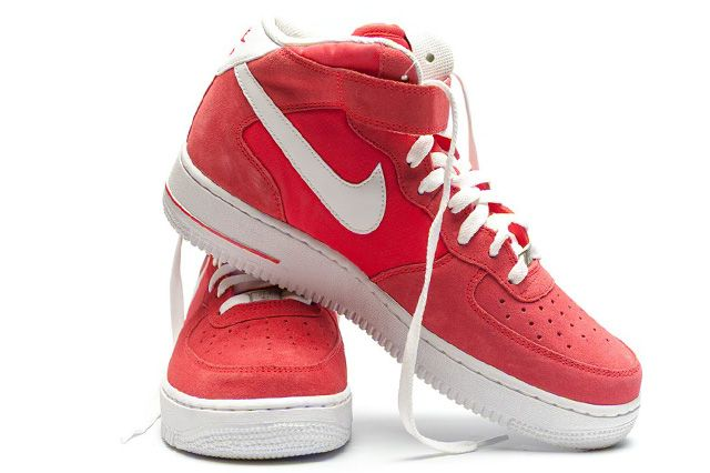 Nike Air Force 1 Mid Fusion Red 4